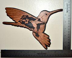 Colibri de Majesté de la nature par BurkesSawDustWorks sur Etsy