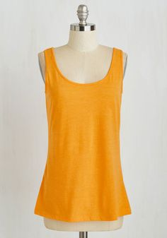 Salute Your Sports Top in Tangerine, @ModCloth