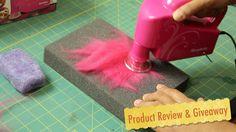 How to Needle Felt: The ZulliTool Wool Wonder Wand by Sarafina Fiber Art Needle Felting Tools, Needle Felted Owl, Beginner Felting, Crafty Gemini, Zipper Crafts, Felt Pictures, Felting Tutorials, Felt Ball, Nuno Felting