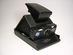 POLAROID SX70 Alpha SE Blue button