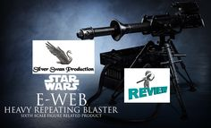 E-web heavy repeating blaster sixth scale sideshow collectible reviewed. All star war fans take the tour as we strip down and analyze another master piece from Sideshow.  watch it at : https://youtu.be/wKj0A8YX2ks like and share our entertaining reviews throughout your social media.