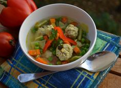 Thai Red Curry, Paleo, Gluten Free, Chicken, Meat, Ethnic Recipes, Soups, Food, Glutenfree