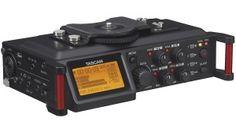 Tascam DR-70D: Mobiler 4-Spur-Recorder für DSLR-Kameras - http://www.delamar.de/musik-equipment/tascam-dr-70d-25844/?utm_source=Pinterest&utm_medium=post-id%2B25844&utm_campaign=autopost