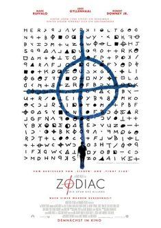 "MP157. ""Zodiac"" German Movie Poster by Mojo (David Fincher 2007) / #Movieposter"