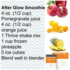 Thrive lifestyle mix after glow