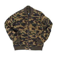 BAPE Bomber Jacket - V nice. such jacket. much price.