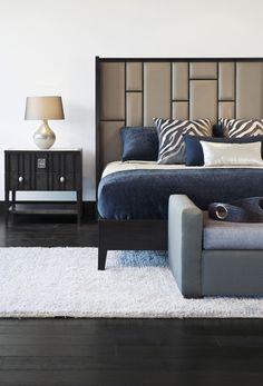 ADRIANA HOYOS GRAFITO Collection #bedroomfurniture #modernfurniture