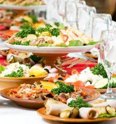 Wedding Food Tips: Menu, Drink and Dessert Ideas