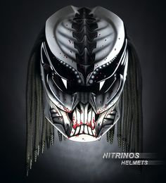 The Predator helmet (original) means: 1. 4 -channel ventilation 2. Changeable visors (clear, dark, mirror) 3. High-tech Kevlar body 4. Safety officially tested and proved - http://www.youtube.com/watch?v=RM5qm84DRzU 6. More than 12 Options 5. More than 60 aerography