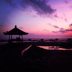 Sunrise, sanur beach, Bali, Indonesia