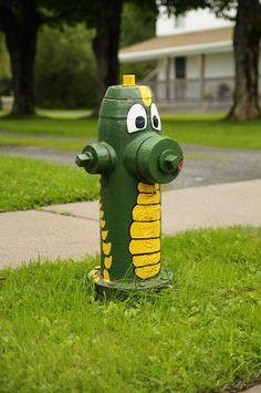 Green Dragon Hydrant
