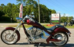 2011 Honda Fury Chopper , Maroon, 3,770 miles for sale in St. Augustine, FL