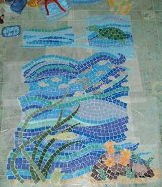 mosaic+patterns   Fordetailed mosaic shower installation info & larger photos of ...