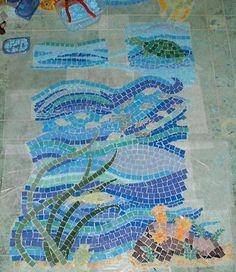 Mosaics Koi And Fish On Pinterest