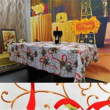 150*180 cm Decorações de Natal Toalha De Mesa para a Festa de Casa Tampa de Tabela Toalha de mesa de Natal Festa de natal Ornamento(China)