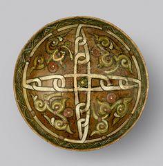 "Slip Painted Bowl - ADC.148 Origin: Central Asia Circa: 10 th Century AD to 11 th Century AD Dimensions: 2.64"" (6.7cm) high x 6.69"" (17.0..."