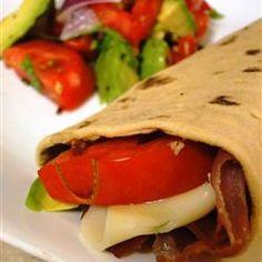 Hummus and Prosciutto Wrap Allrecipes.com