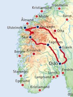 Norwegen-Rundreise für Einsteiger: Weltberühmte Fjorde, die raue Atlantikküste & die traditionsreiche Gebirgslandschaft des Landesinneren erleben.