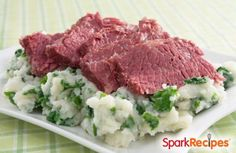 Carol's Kale Colcannon (Irish Mashed Potatoes) Recipe via @SparkPeople