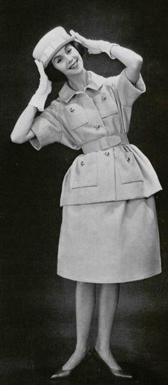 1950's fashion - nina ricci 1959
