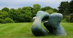 Reclining figures are common sights at the New York Botanical Garden, but some of the latest to visit the Bronx institution hang out overnight. The garden is presenting the largest outdoor display of works by Henry Moore ever exhibited in the U.S.