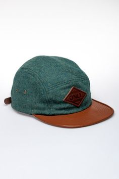 Only Woolrich Camper 5 Panel Hat // Jackthreads