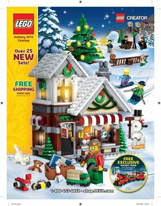 Lego Holiday Catalog 2015 Page 1