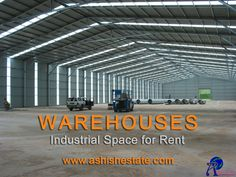#AshishEstate We provide ready-to-move and build-to-suit #industrial_sheds on rent at competitive rates in Ahmedabad.