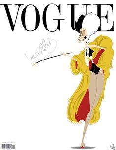 #Vogue Covergirl Cruella De Vil