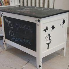 coffre jouets etoile bois de palettes chambre des enfants maillots de bain et hauteur. Black Bedroom Furniture Sets. Home Design Ideas