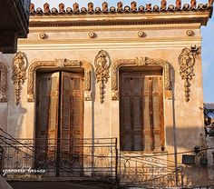 Nafplio, Peloponnese / by Yannis Larios Old Greek, Neoclassical Architecture, Greek Islands, Travel Photographer, Architecture Design, The Neighbourhood, Beautiful Places, Places To Visit, Doors