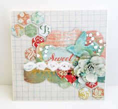 Lauren Bergold from the Hooked on Hexagons Challenge in the Moxie Fab World.