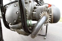 Built for Speed: BMW 255 Kompressor Engine - Classic German Motorcycles - Motorcycle Classics