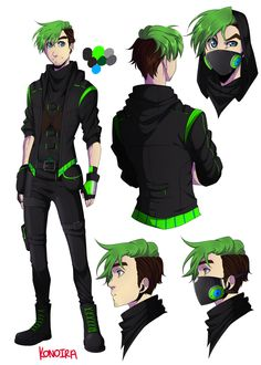 konoira:  Scavenger!Jack's Reference Sheet//woRKS ON HUNTER AU  I would love a game character like this haha