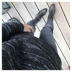 Chloe Susanna Boots casual look.