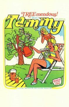 0819 Postcard Tammy 70s Girls' Comic Jul 1978 | eBay
