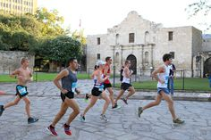 Run past San Antonio attractions. Then go back and visit them.