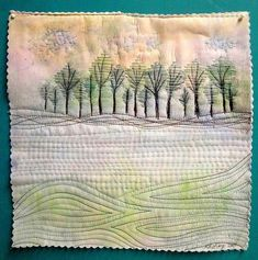 Image result for mini landscape quilts