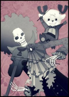 Brook and Chopper #one piece