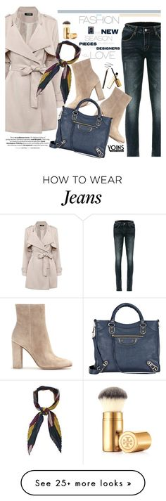 """""""Yoins 17:Chic Style"""" by pokadoll on Polyvore featuring Tory Burch, Gianvito Rossi, Beauty Secrets, Balenciaga, women's clothing, women's fashion, women, female, woman and misses"""