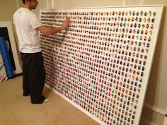 LEGO Wall Adorned With 1,200 Minifigs Creates Geeky Office Decor