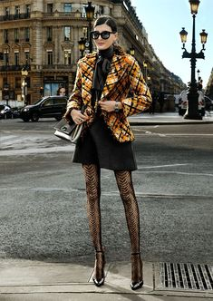 From the very few times you ll ever see Giovanna Battaglia with make up !