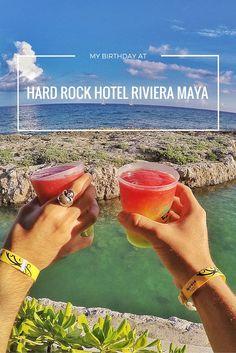 Hard Rock Hotel Riviera Maya is the best hotel to celebrate a birthday!