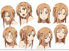 Asuna being Kawaii (cute)