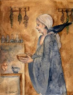 Celtic Lady: CELTIC HALLOWEEN: THE SAMHAIN CRONE