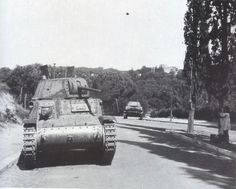 Battle for Rome september 1943 - Italian tank, pin by Paolo Marzioli