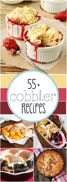 55+ Cobbler Recipes   www.somethingswanky.com