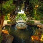 Le jardin de l'alhambra