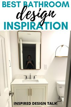 This is such helpful advice for my bathroom project. I love all the bathroom ideas on a budget. So great!
