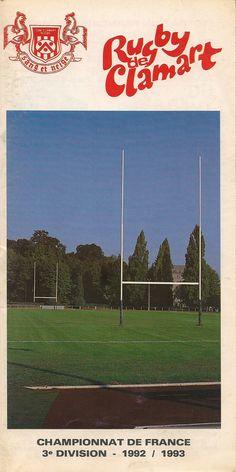 Calendrier 1992-1993 - 3ème Division - Page 1 - Photo Couverture : Pierre Le Coze